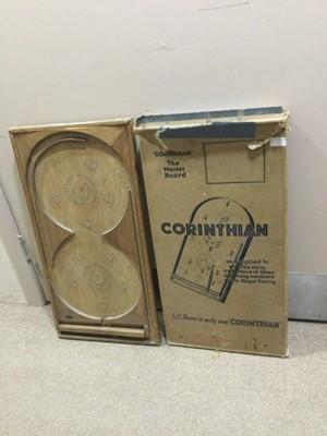 Lot 9 - A CORINTHIAN 'THE MASTERS' BAGATELLE BOARD IN ORIGINAL BOX