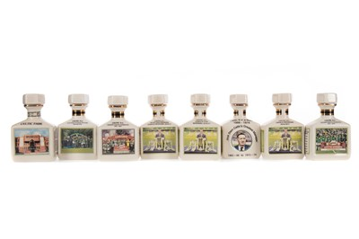Lot 1708 - CELTIC F.C. INTEREST - COLLECTION OF EIGHT POINTERS WHISKY MINIATURES