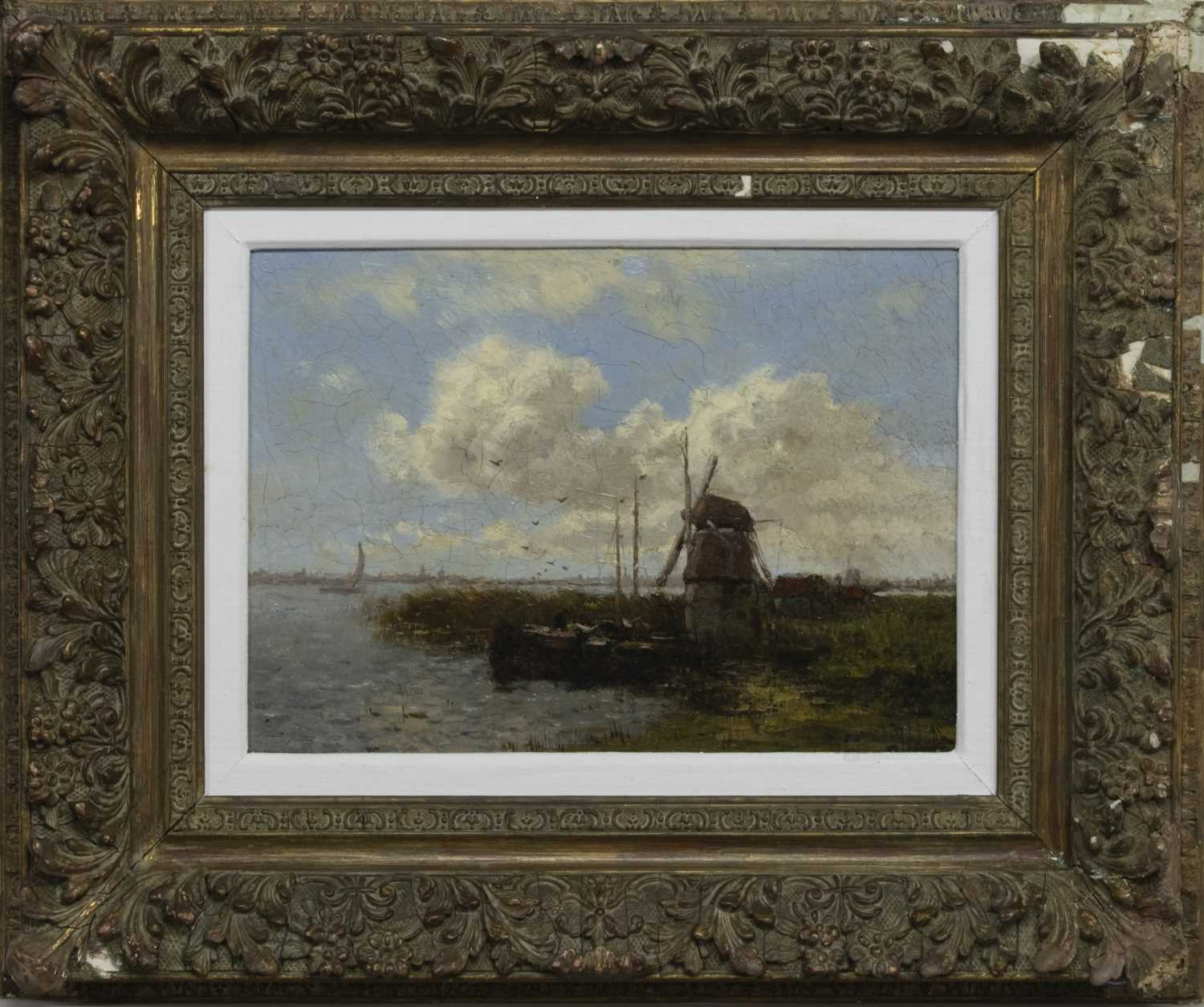 Lot 96 - WINDMILLS AND WATER, AN OIL