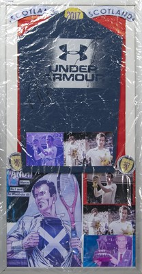 Lot 1747 - AN ANDY MURRAY SIGNED T-SHIRT