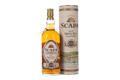Lot 46 - SCAPA AGED 10 YEARS - ONE LITRE