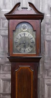 Lot 1178 - AN EARLY 20TH CENTURY MAHOGANY LONGCASE CLOCK