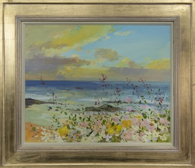 Lot 539 - AILSA CRAIG, AN OIL BY JAMES HARRIGAN