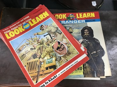 Lot 61 - A LARGE COLLECTION OF LOOK AND LEARN MAGAZINES