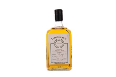 Lot 59 - MORTLACH 1987 CADENHEAD'S CASK ENDS AGED 30 YEARS