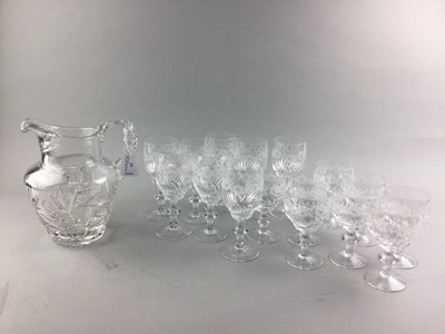 Lot 53 - A LOT OF CRYSTAL WARE