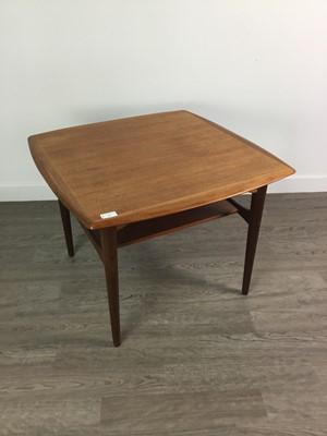 Lot 96 - A NORWEGIAN TEAK COFFEE TABLE