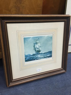 Lot 9 - A PRINT AFTER ARTHUR BRADBURY AND TWO OTHER PRINTS