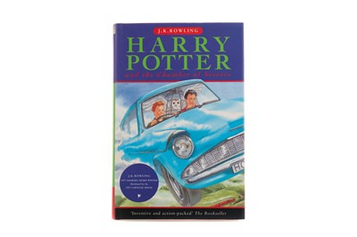 Lot 1422 - A SIGNED COPY OF HARRY POTTER AND THE CHAMBER OF SECRETS BY J.K. ROWLING