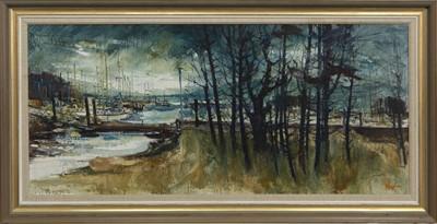 Lot 553 - KIP MARINA, AN OIL BY JAMES WATT