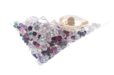 Lot 950 - A COLLECTION OF LOOSE GEMSTONES