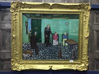 Lot 5 - ROSE COTTAGE, PERTHSHIRE, AN OIL BY JOHN ORR
