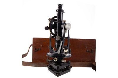 Lot 1191 - AN EARLY 20TH CENTURY THEODOLITE BY E.R WATTS & SON