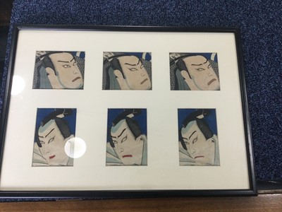 Lot 1659 - A LOT OF TWO JAPANESE WOODBLOCK PRINTS