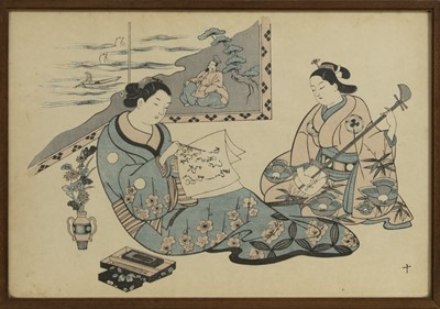 Lot 1688 - A GROUP OF SIX 20TH CENTURY JAPANESE PRINTS