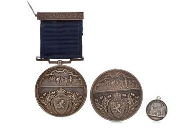 Lot 1776 - A VICTORIAN  ROYAL CALEDONIAN CURLING CLUB MEDAL