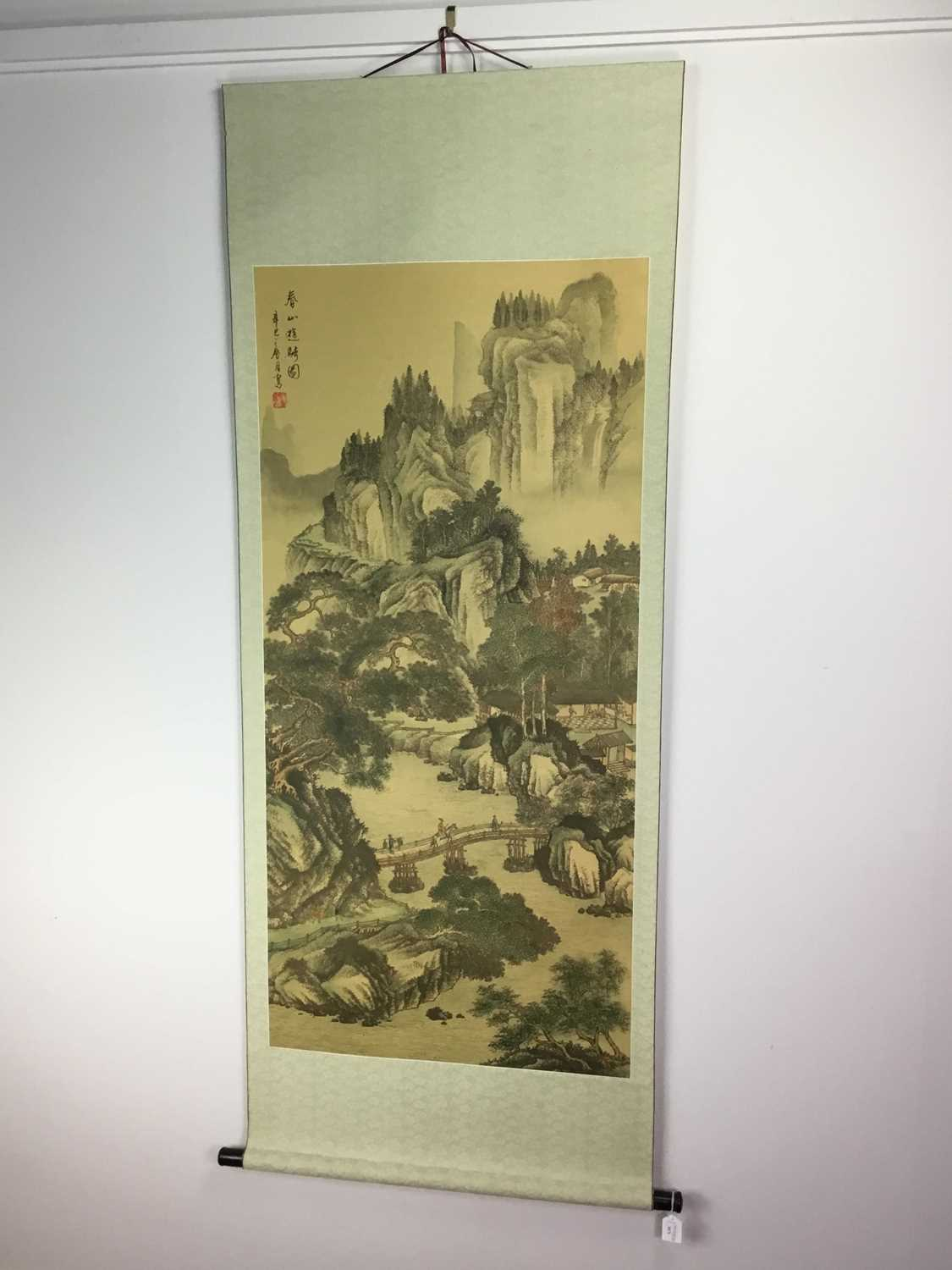 Lot 1671 - A 20TH CENTURY CHINESE SCHOOL BRUSH AND INK PAINTING