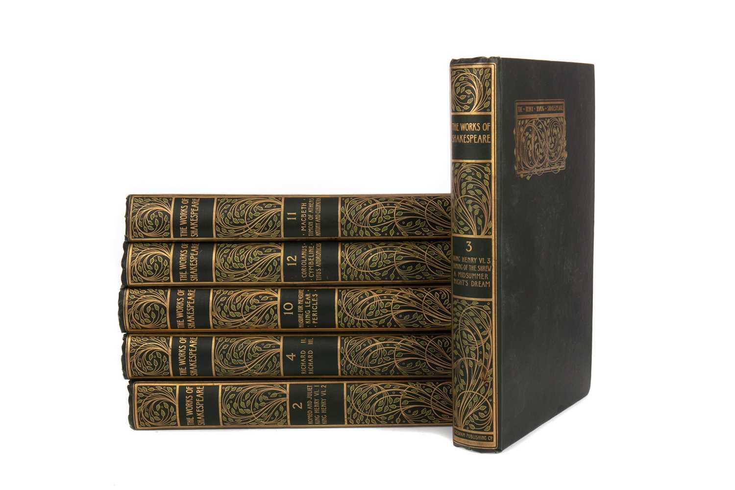 Lot 703 - A SET OF THE WORKS OF SHAKESPEARE