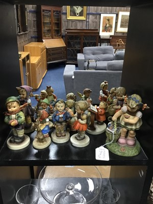 Lot 27A - A COLLECTION OF VARIOUS HUMMEL FIGURES