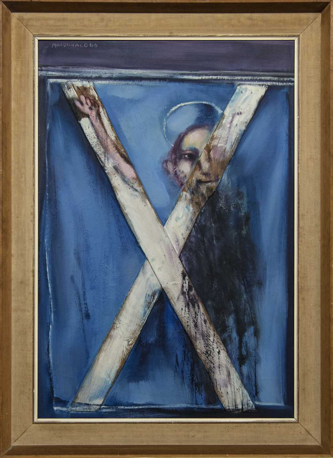 Lot 594 - ST ANDREW, AN OIL BY TOM MACDONALD