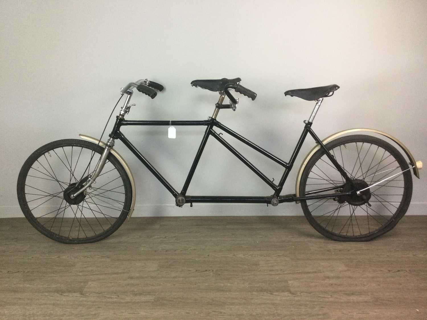 Lot 778 - A TANDEM BICYCLE