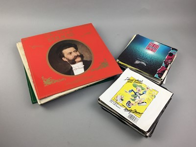Lot 21 - A COLLECTION OF VINYL RECORDS