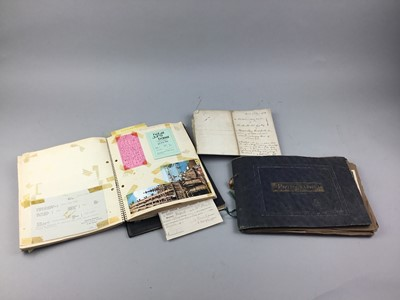Lot 27 - A COLLECTION OF PAPER EPHEMERA