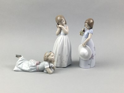 Lot 47 - A LOT OF THREE LLADRO FIGURES IN ORIGINAL BOXES