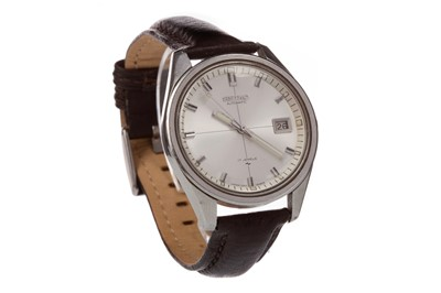 Lot 725 - A GENTLEMAN'S SEIKO STAINLESS STEEL AUTOMATIC WRIST WATCH