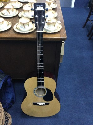 Lot 64 - AN ACOUSTIC GUITAR BY MARTIN SMITH