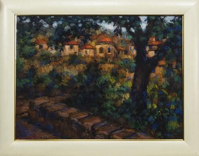 Lot 606 - SPAIN, AN OIL BY JOHN MACKIE