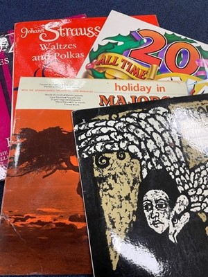 Lot 95 - A COLLECTION OF LP RECORDS