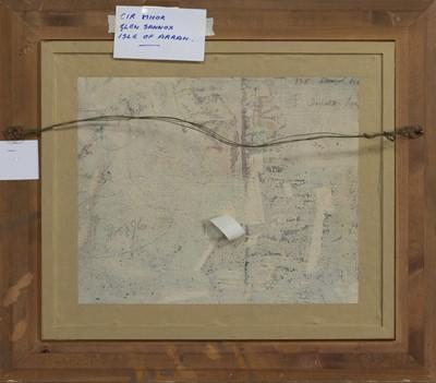 Lot 2050 - CIR MHOR FROM GLEN SANNOX, AN OIL BY JOHN MACLAUCHLAN MILNE