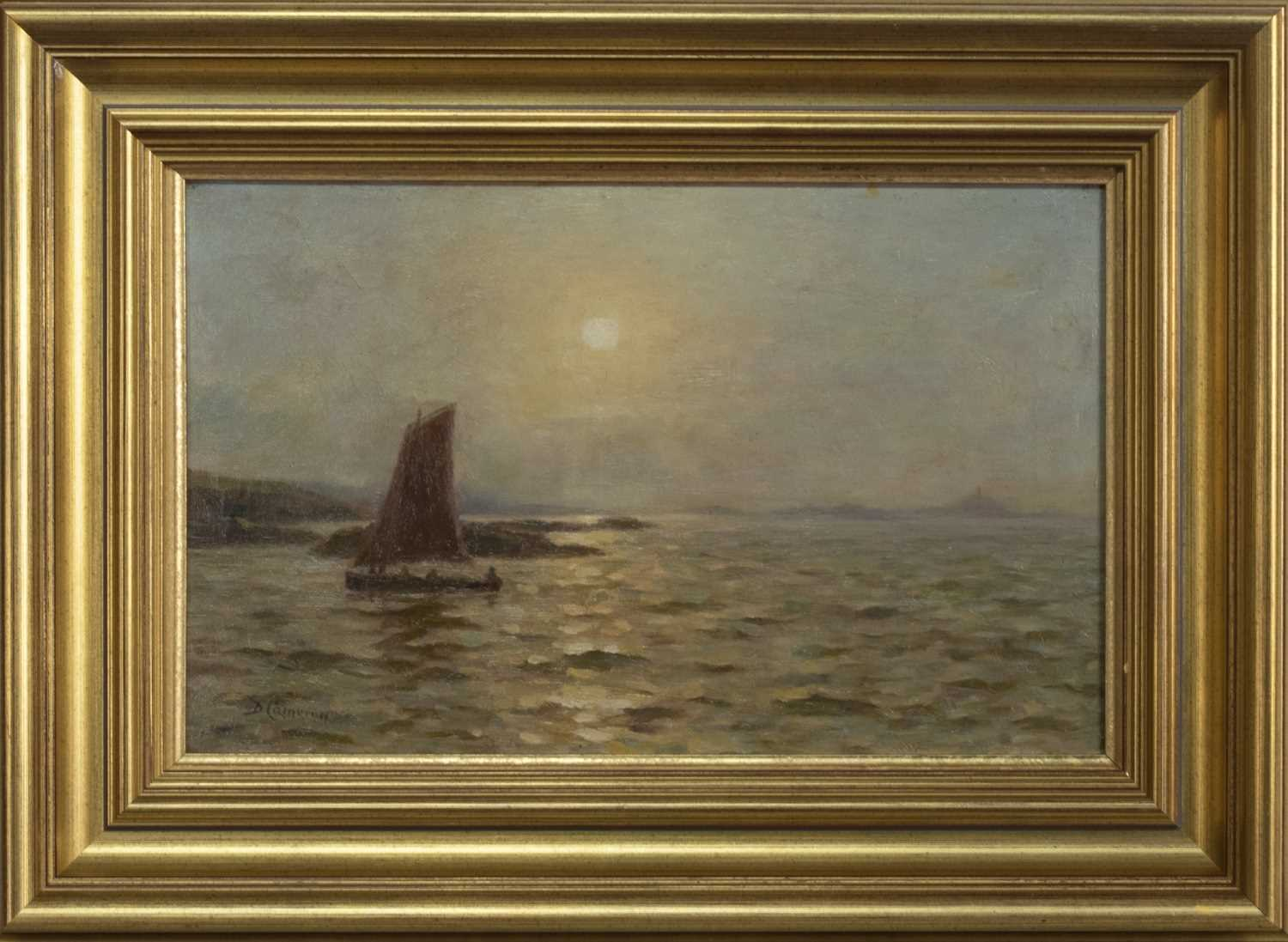 Lot 2035 - NORTH BERWICK, AN OIL BY DUNCAN CAMERON