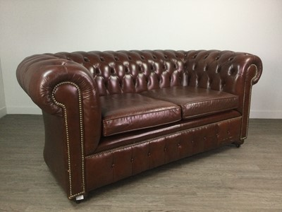 Lot 780 - TWO CHESTERFIELD SETTEES