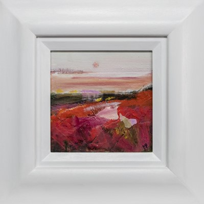 Lot 692 - ROSY OUTLOOK, A MIXED MEDIA BY MAY BYRNE
