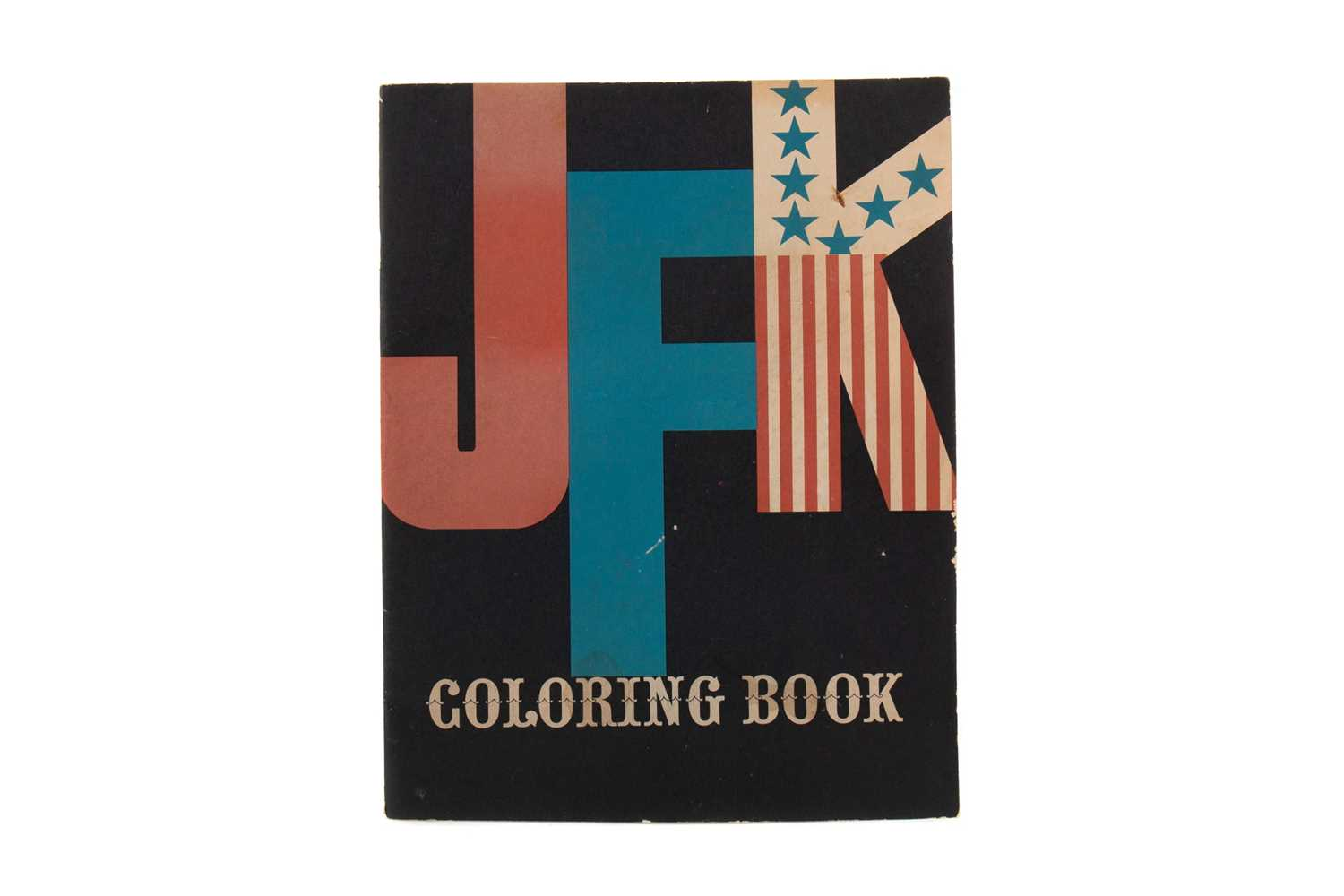 Lot 745 - THE J. F. K COLOURING BOOK