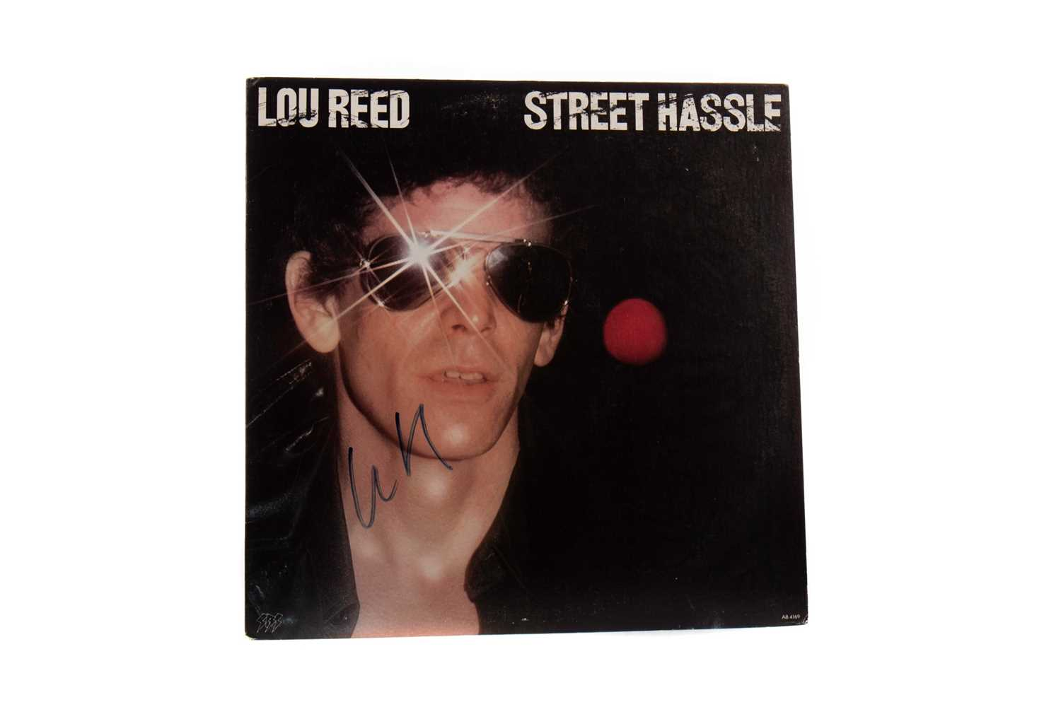Lot 762 - A LOU REED STREET HASSLE LP RECORD