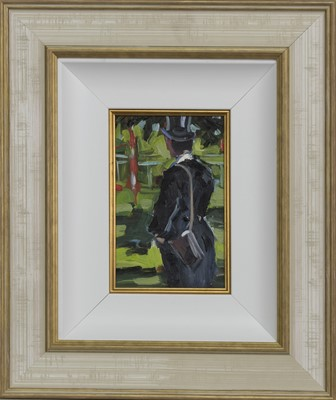 Lot 627 - ASCOT, AN OIL BY SHERREE VALENTINE DAINES