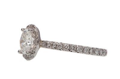 Lot 1337 - A ROX DIAMOND DRESS RING