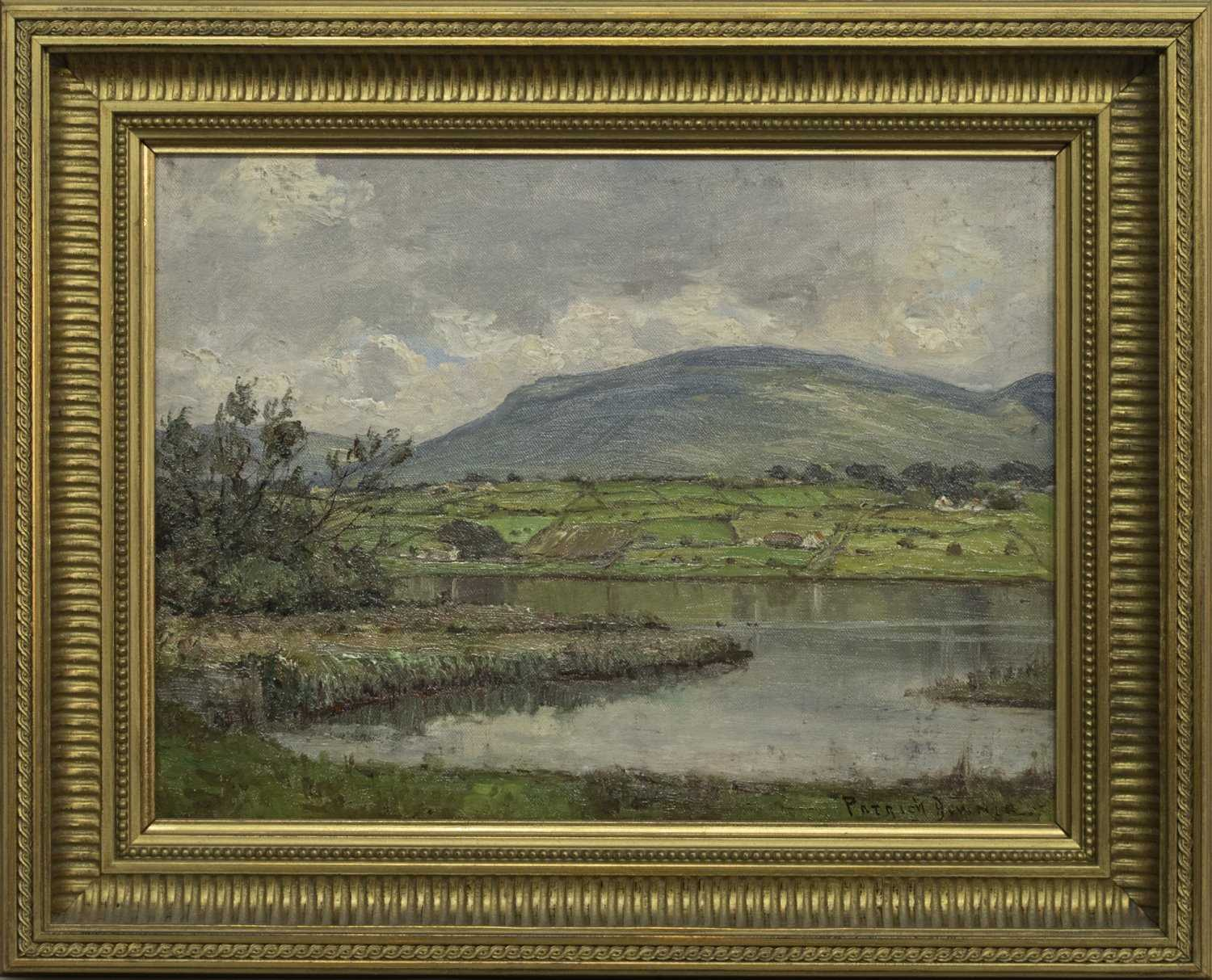 Lot 43 - THE LAKE ROAD, MULLAGH, AN OIL BY PATRICK DOWNIE