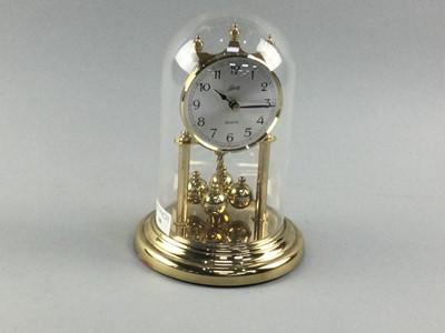 Lot 44 - A SCHATZ QUARTZ ANNIVERSARY CLOCK
