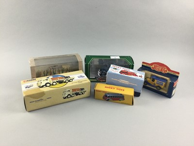 Lot 86 - A GROUP OF DINKY, CORGI AND OTHER BOXED MODEL VEHICLES
