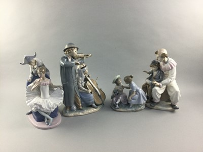 Lot 96 - A LOT OF FOUR NAO FIGURE GROUPS