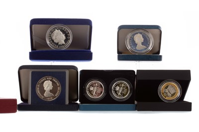 Lot 5 - A COLLECTION OF SILVER COINS