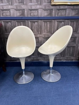 Lot 88 - A PAIR OF RETRO BAR CHAIRS