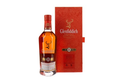 Lot 8 - GLENFIDDICH AGED 21 YEARS