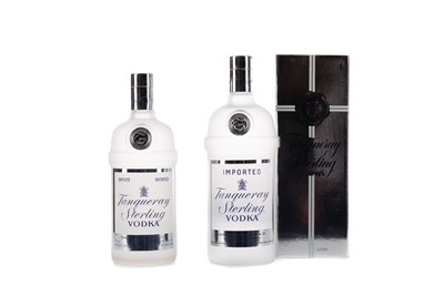 Lot 46 - TWO BOTTLES OF TANQUERAY STERLING VODKA