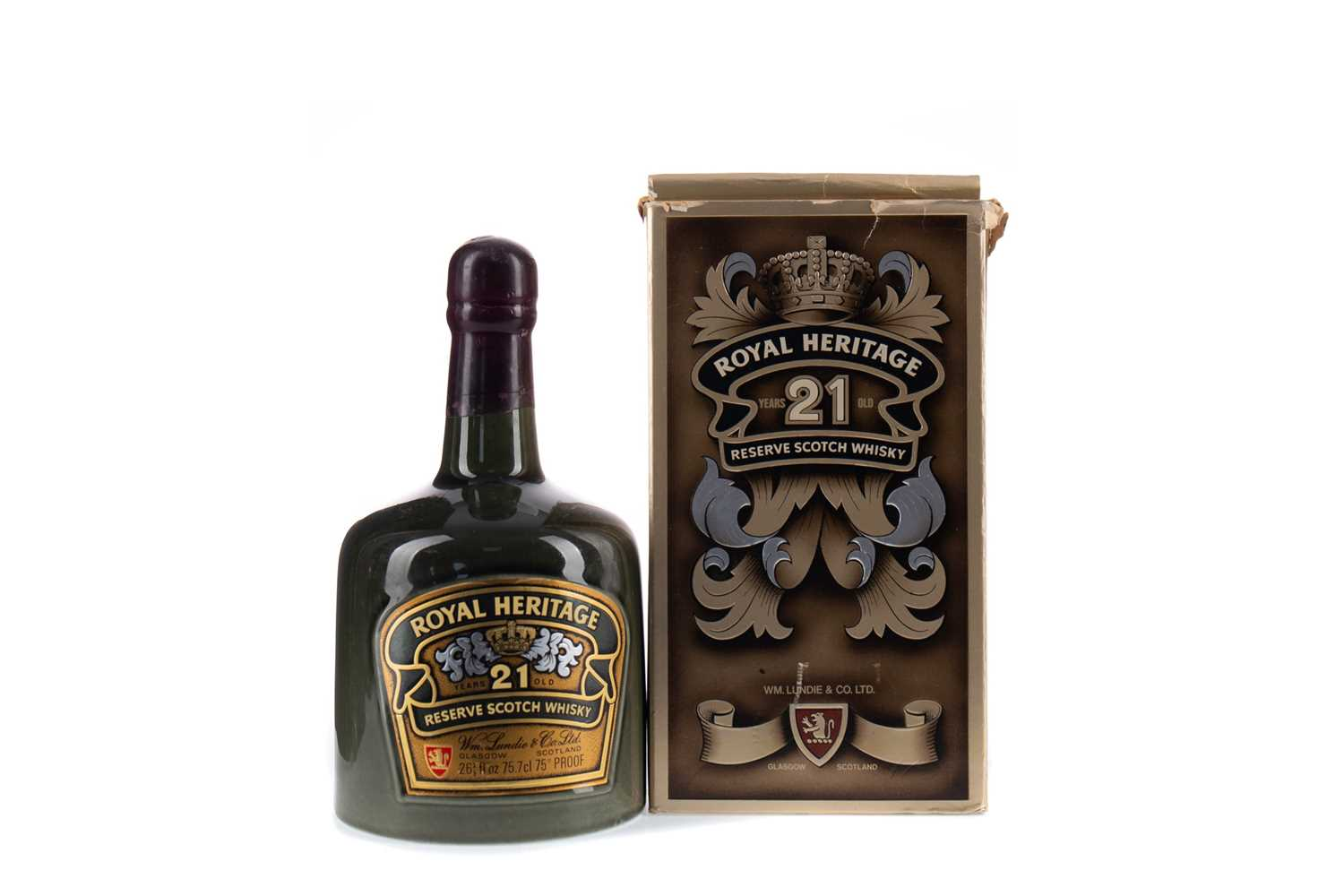 Lot 67 - ROYAL HERITAGE 21 YEARS OLD