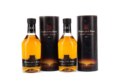 Lot 83 - TWO BOTTLES OF HIGHLAND PARK AGED 12 YEARS